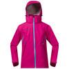 Bergans Youth Girl Ervik Jacket Hot Pink/Br SeaBlue/Cerise